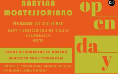 OPENDAY BABYLAB MONTESSORIANO